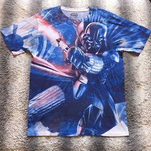 🛸 Star Wars Darth Vader Full Graphic Tee Men's M